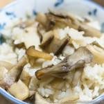 キノコご飯とカレイの煮つけ