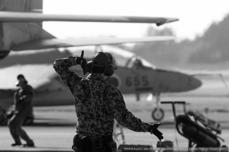 航空祭。人物 1