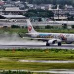 雨の宮崎空港②